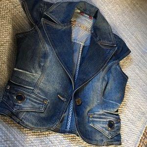 XOXO Stylish Jeans Vest